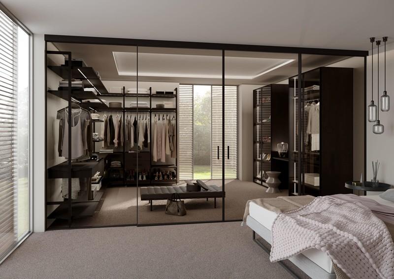 Phòng thay đồ phong cách mở