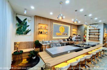 Thiết kế quán cafe TOONG