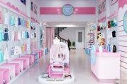 Các phong cách thiết kế shop quần áo trẻ em đẹp hiện nay
