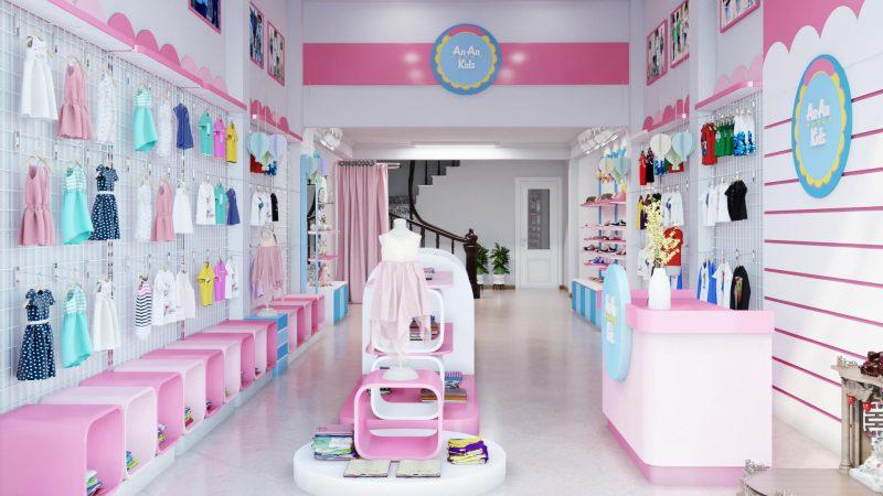 shop thời trang trẻ em