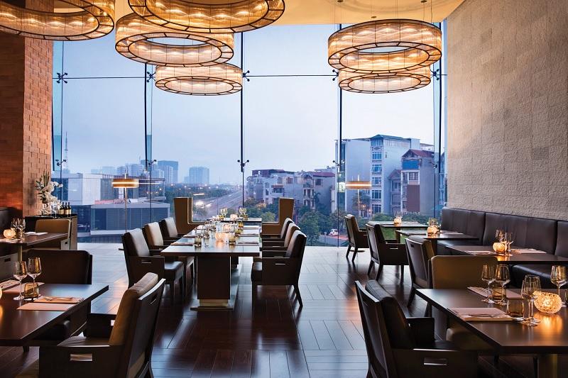 Thiết kế nội thất nhà hàng hiện đại đơn giản, tinh tế 1