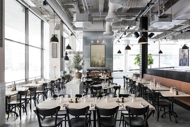 Thiết kế nội thất nhà hàng hiện đại đơn giản, tinh tế 3