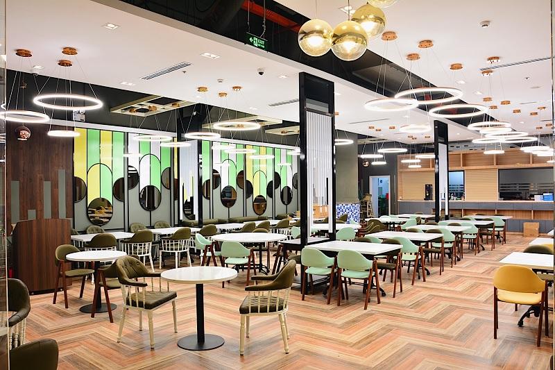 Thiết kế nội thất nhà hàng hiện đại đơn giản, tinh tế 4