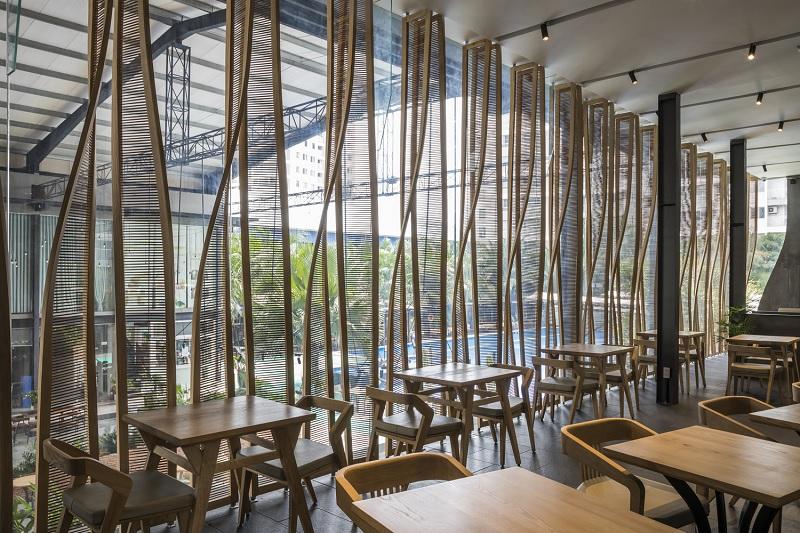 Thiết kế nội thất nhà hàng hiện đại đơn giản, tinh tế 5