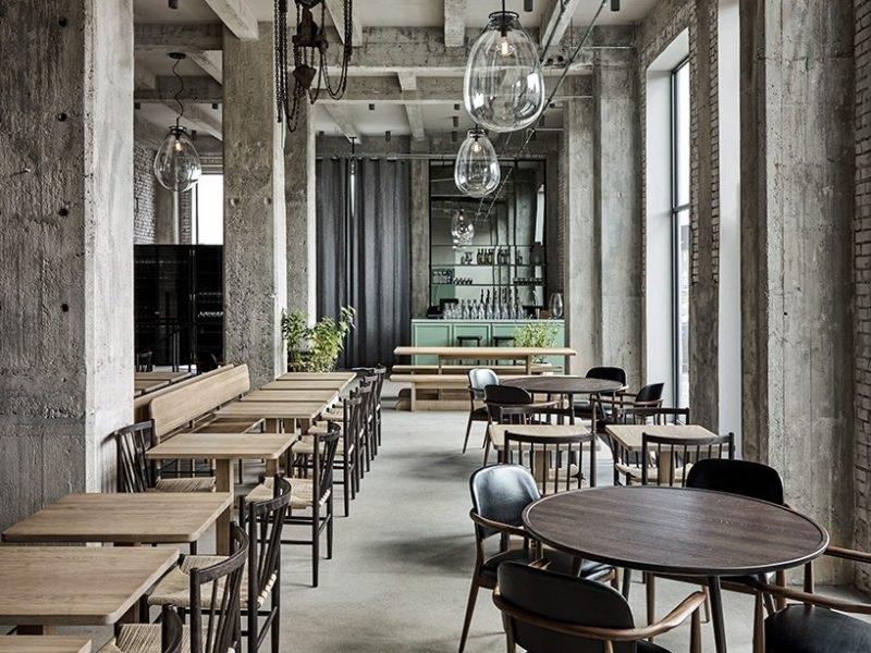 Thiết kế nội thất nhà hàng theo phong cách mộc mạc, giản dị 3