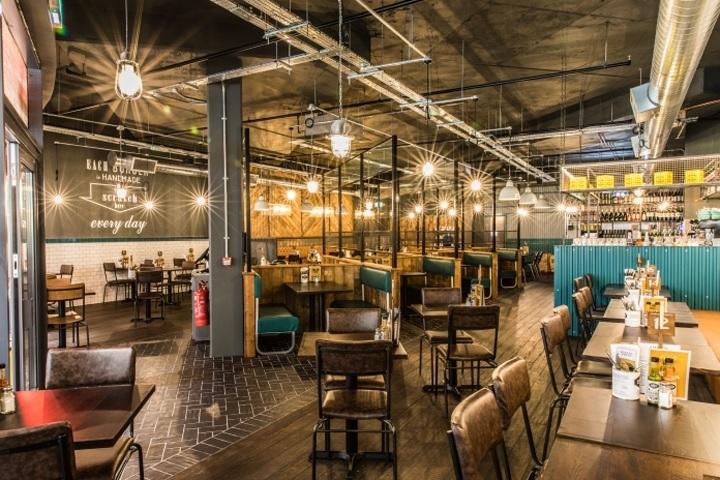 Thiết kế nội thất nhà hàng theo phong cách mộc mạc, giản dị 4