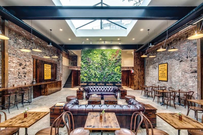Thiết kế nội thất nhà hàng theo phong cách mộc mạc, giản dị 5