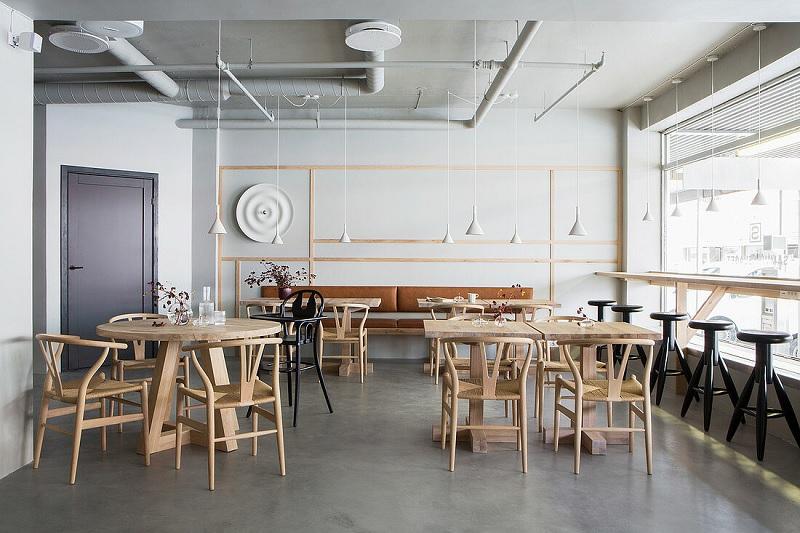 Thiết kế nội thất nhà hàng theo phong cách Scandinavian tối giản 4