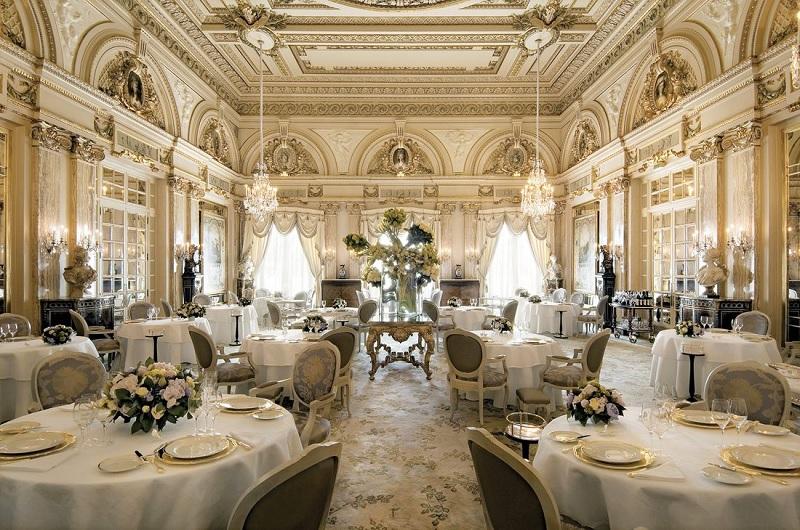 Thiết kế nội thất nhà hàng đẹp Cổ điển 4