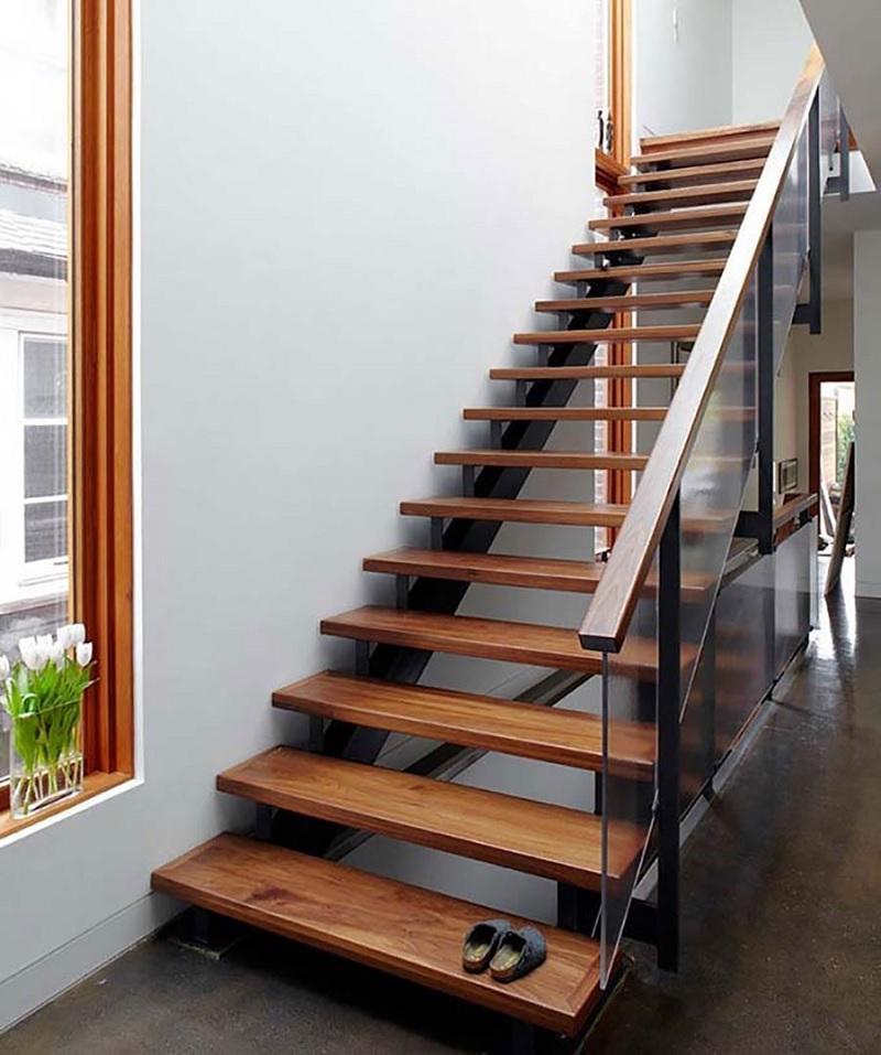 Xu hướng thiết kế cầu thang gỗ đẹp, đa dạng kiểu dáng