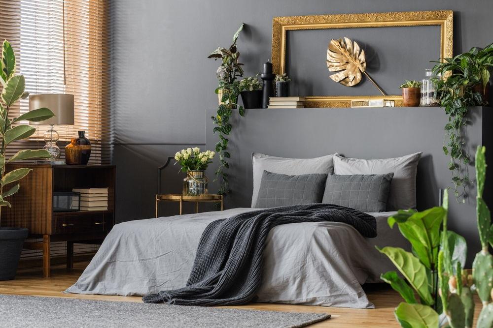 Không gian phòng ngủ trang trí bằng đồ handmade đẹp ấn tượng