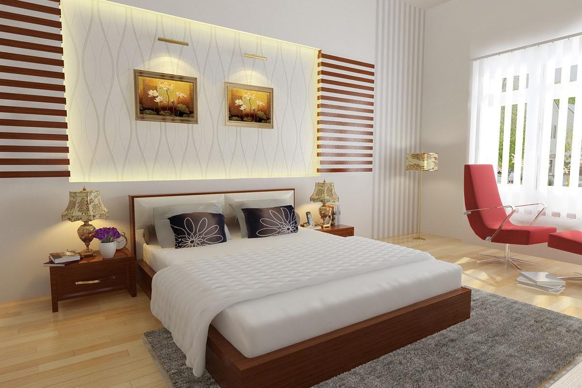Thiết kế thảm trải sàn đẹp cho không gian phòng ngủ