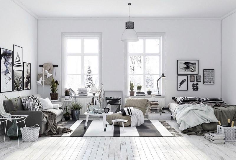 Phong cách chung cư scandinavian