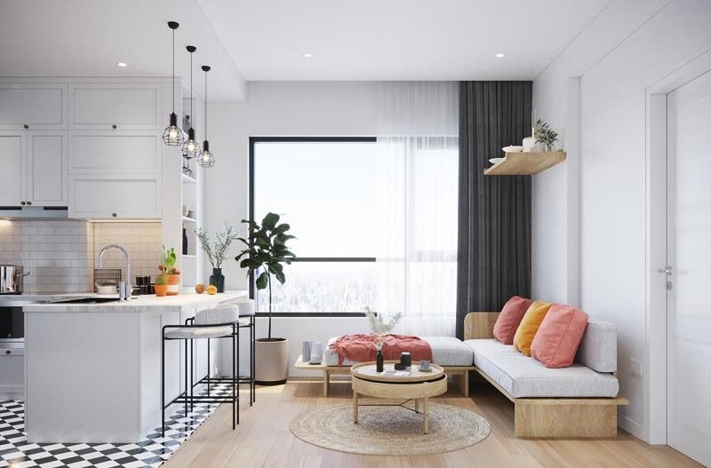 Phong cách chung cư tối giản