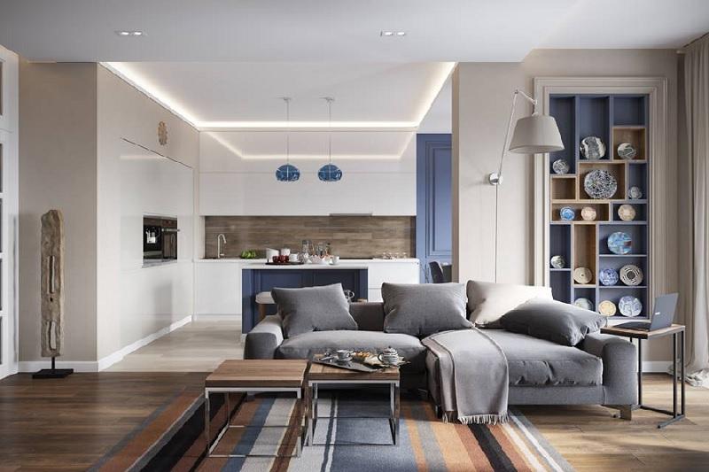 Phong cách nhà chung cư hiện đại