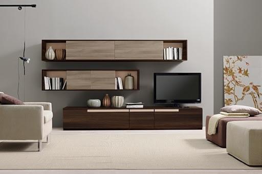 Các mẫu kệ trang trí phòng khách chung cư đẹp được yêu thích nhất 2021