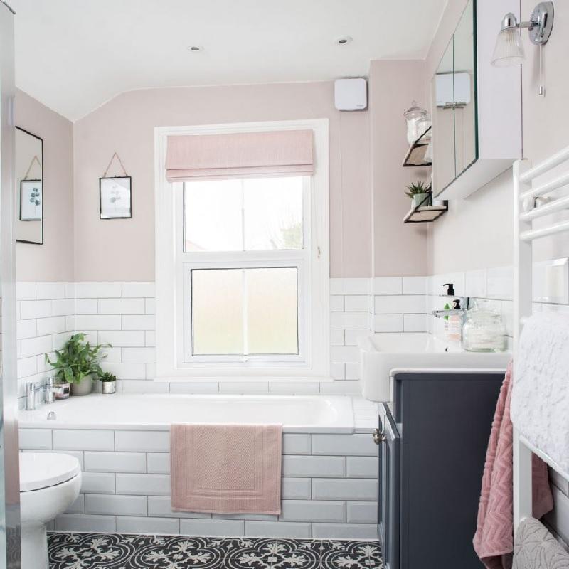 Mẫu phòng tắm độc đáo cho các nàng độc thân
