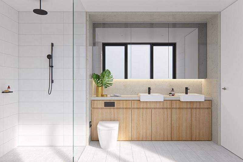 Hoặc thiết kế thêm tủ để đồ, phòng xông hơi… và bất kì thứ gì mà bạn cần để cảm thấy thoải mái nhất.