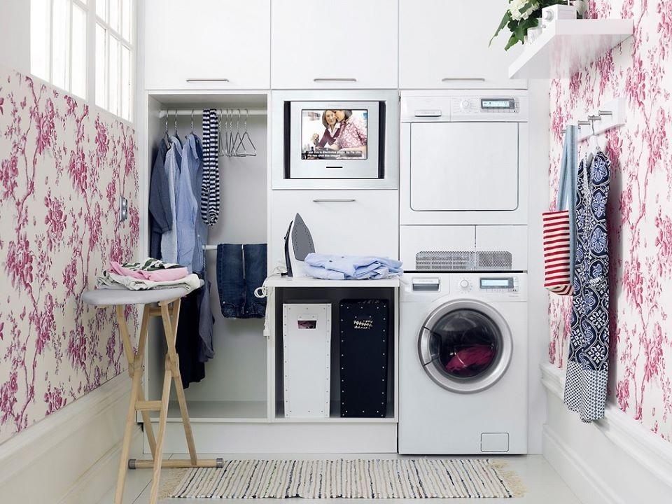 Phòng giặt phơi có chỗ là quần áo tiện lợi