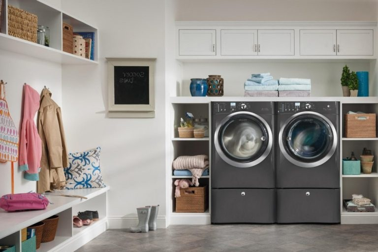 Thiết kế phòng giặt phơi đẹp với không gian đa năng