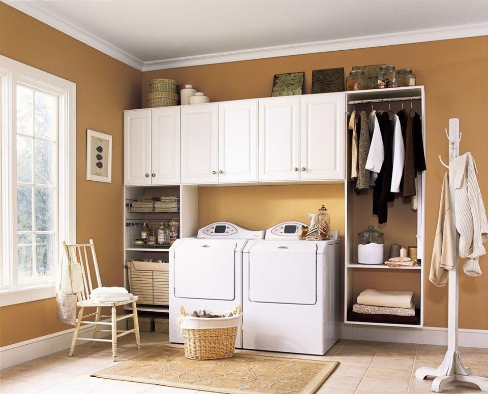 Phòng giặt phơi đẹp với thiết kế đa năng, tiện dụng