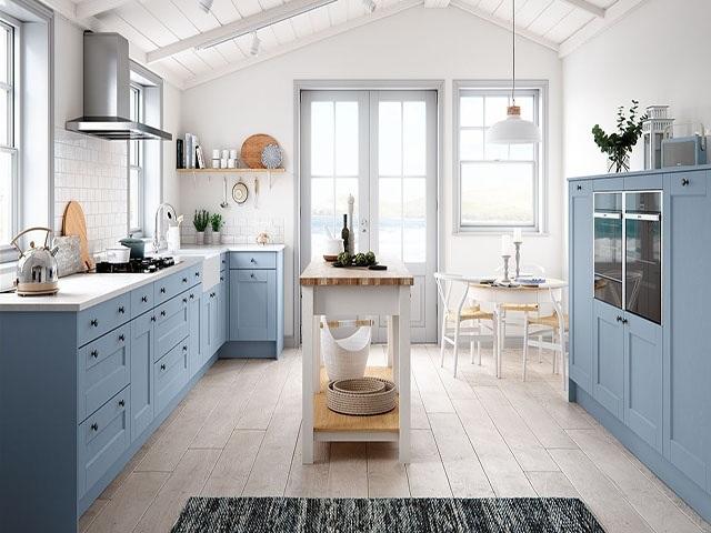 Không gian bếp tiện nghi cho căn hộ chung cư