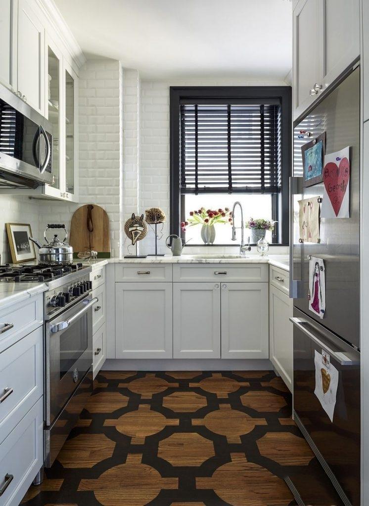 Không gian phòng bếp với đầy đủ nội thất