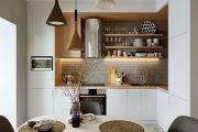 """11 Giải pháp thiết kế bếp nhỏ đẹp """"phóng đại"""" không gian"""