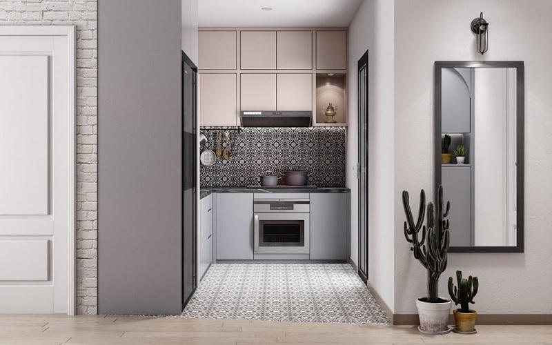 Thiết kế bếp nhỏ đẹp đa dạng kiểu dáng không gian
