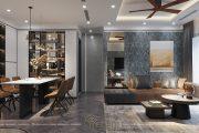 Mẫu thiết kế nội thất căn hộ chung cư GOLDEN PARK