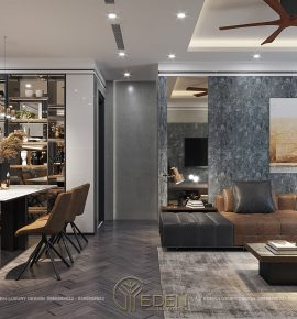 Thiết kế nội thất chung cư Goden Park