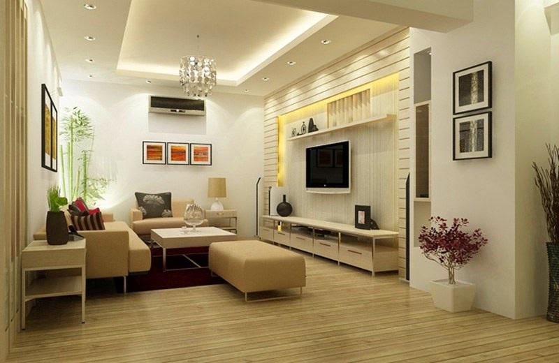 Phòng khách đơn giản mà đẹp tinh tế