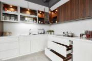 Tủ bếp MDF phủ Melamine – Khác biệt với tủ Acrylic và Laminate ra sao?