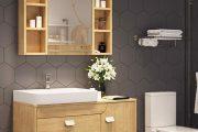 5 Ý tưởng thiết kế tủ đựng đồ trong nhà vệ sinh độc đáo và lý tưởng nhất