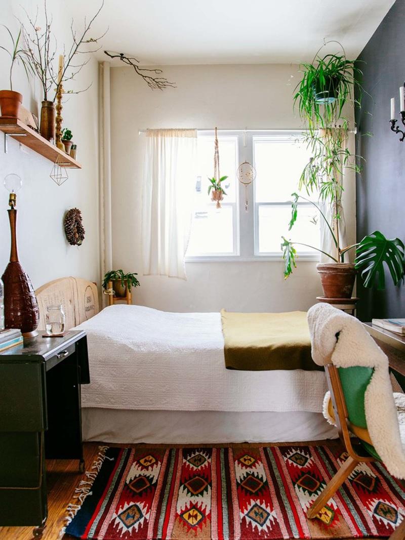 Xây phòng ngủ đẹp với phong cách Vintage