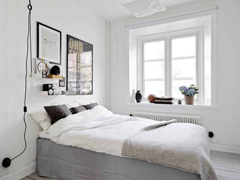 Xây phòng ngủ đẹp với phong cách Scandivian