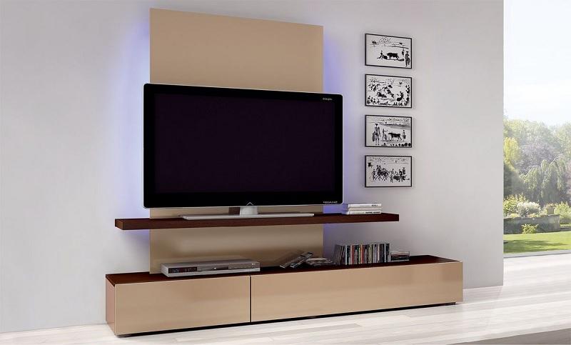 Kệ tủ gỗ Acrylic cho phòng khách