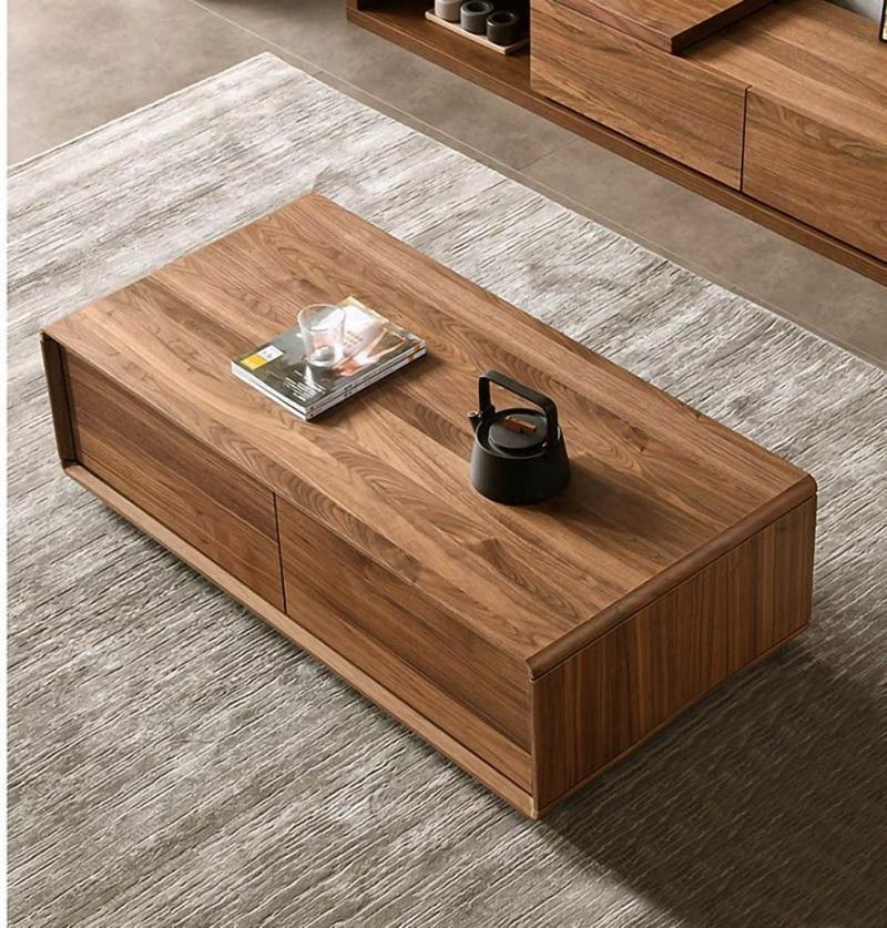 Bàn gỗ Acrylic cho phòng khách