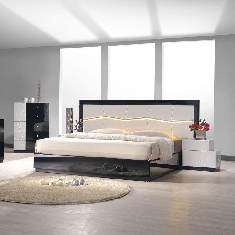 Giường ngủ gỗ Acrylic cho phòng ngủ