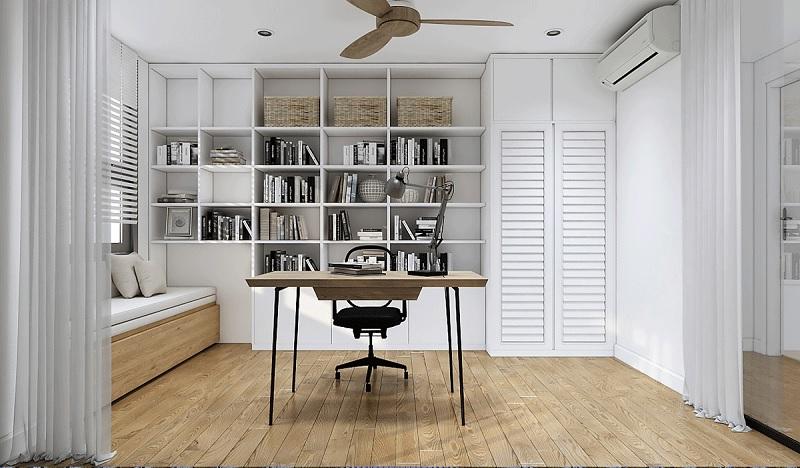 Ngoài ra việc thiết kế nguồn sáng ổn định sẽ giúp căn phòng thông thoáng hơn.