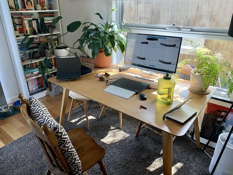 Xác định công việc, đối tượng sử dụng bàn làm việc