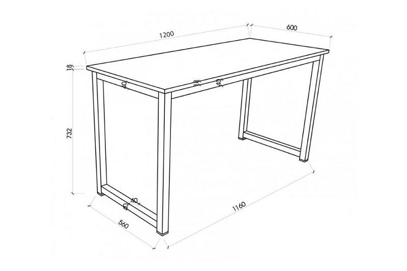 Kích thước bàn làm việc cá nhân