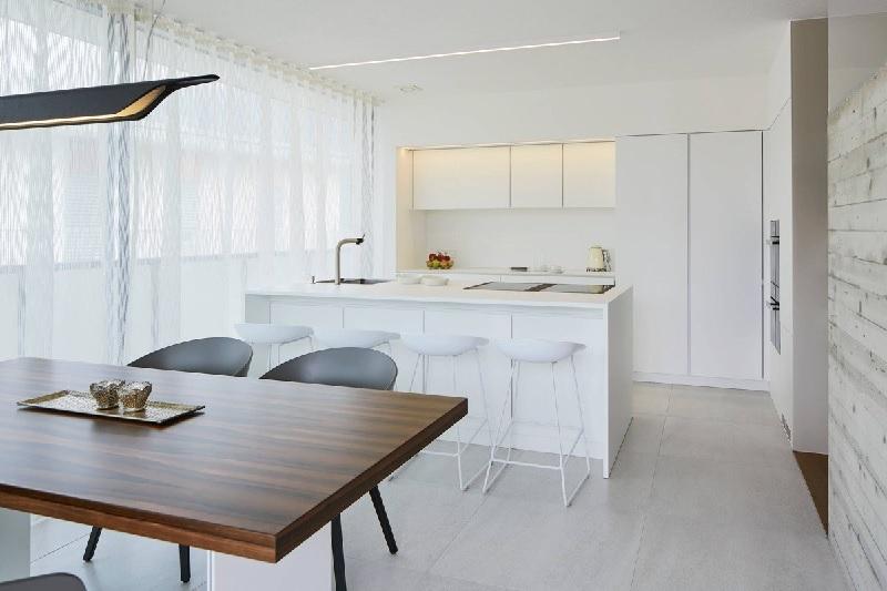 Mẫu trang trí phòng bếp nhỏ đẹp cho căn hộ chung cư