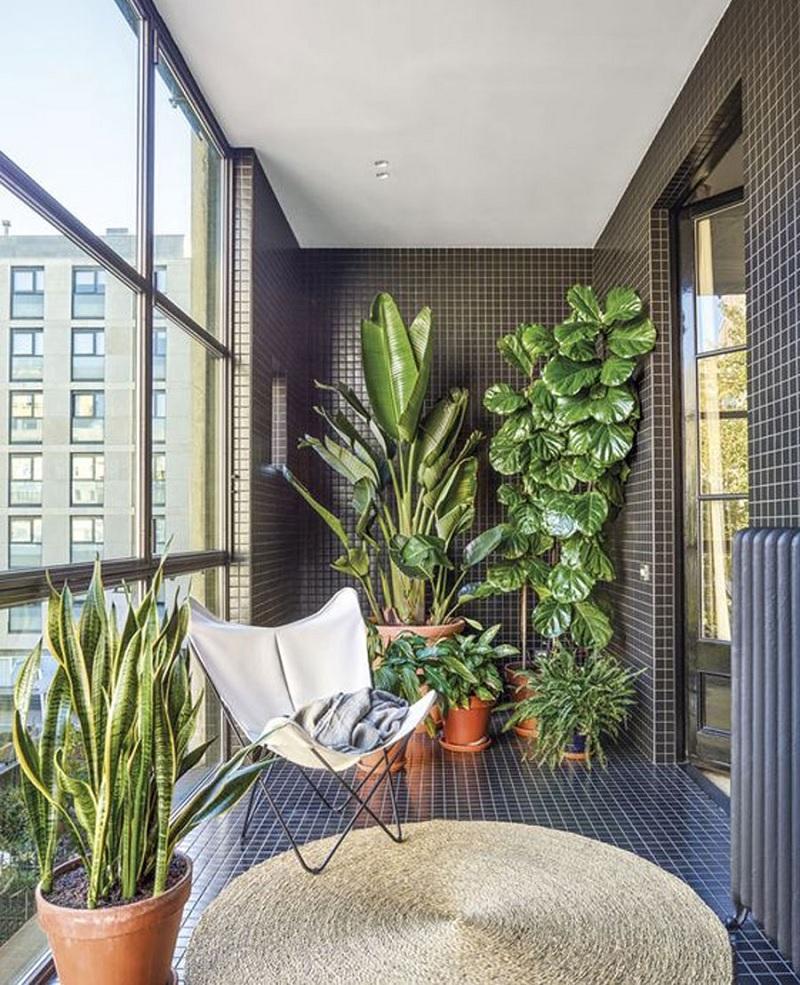 Mẫu thiết kế ban công chung cư hiện đại