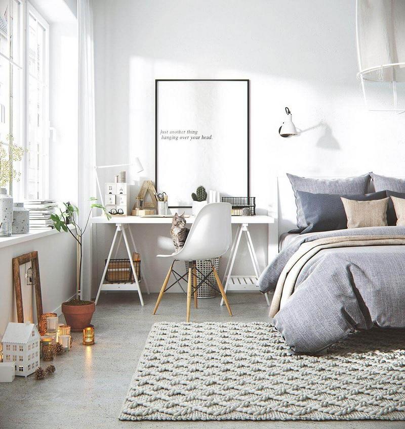 Design phòng ngủ phong cách tối giản
