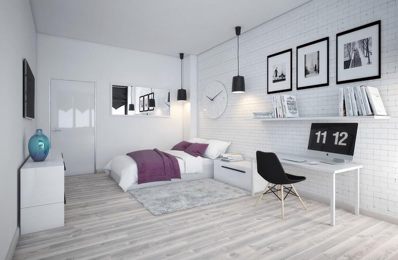 Design phòng ngủ phong cách scandinavian