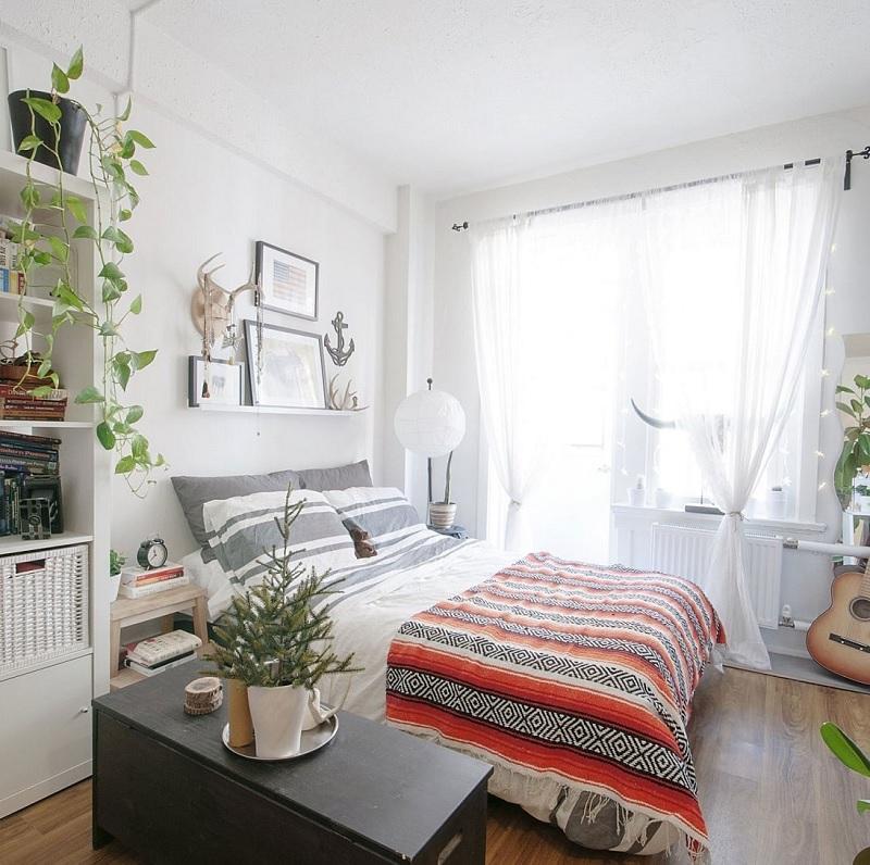 Thiết kế phòng ngủ nhỏ 10m2 thông thoáng