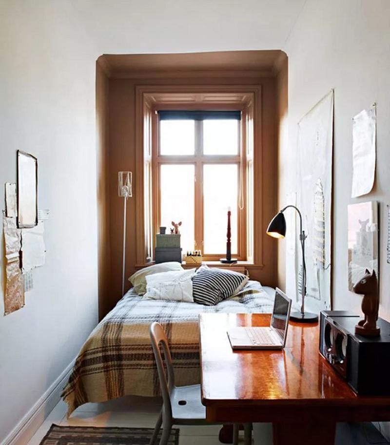 Thiết kế phòng ngủ nhỏ 2m2 tiện nghi