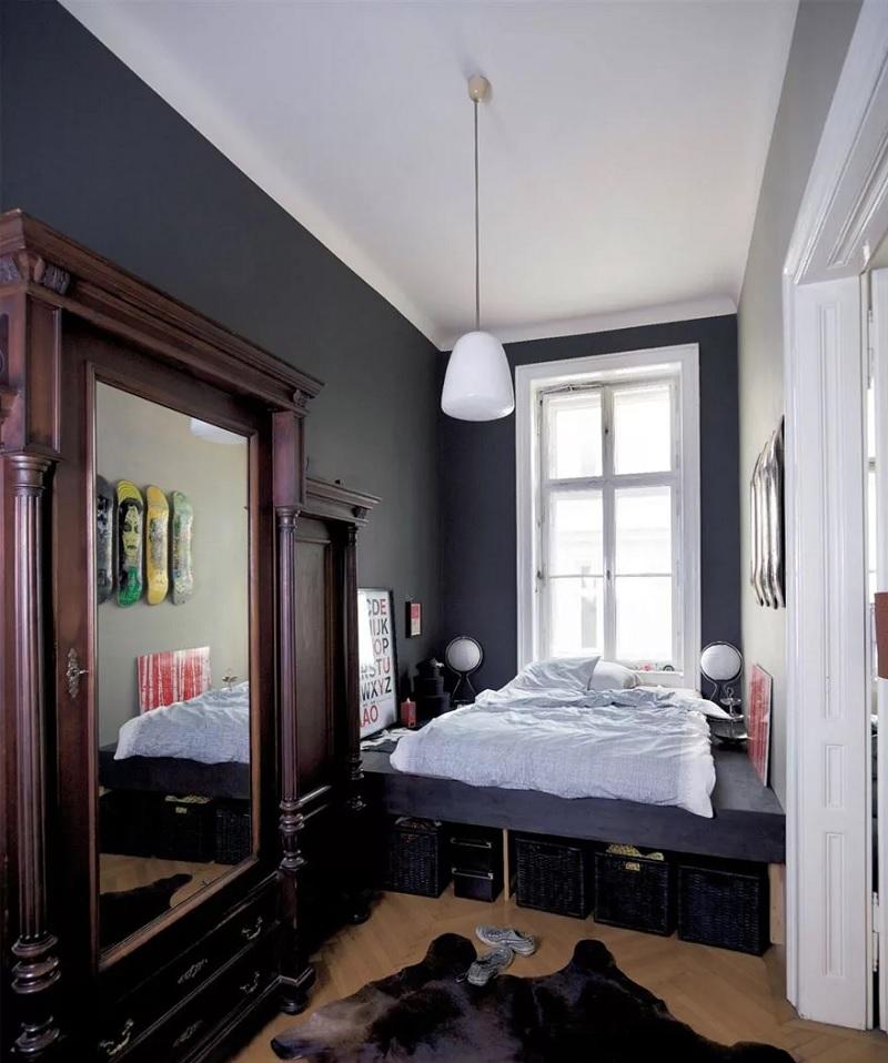 Thiết kế phòng ngủ nhỏ 4m2 thoải mái