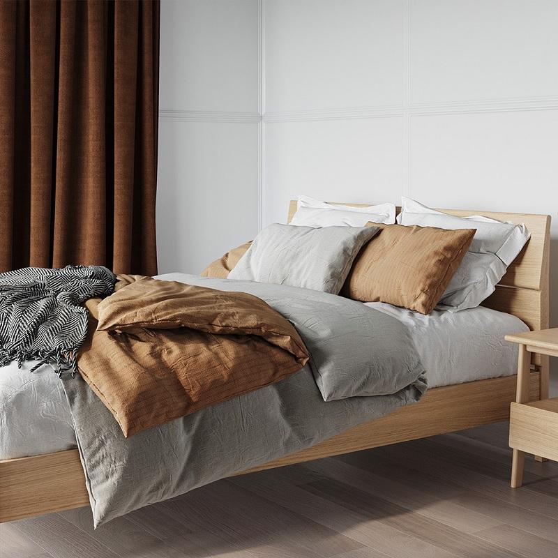 Giường ngủ gỗ ván ép plywood